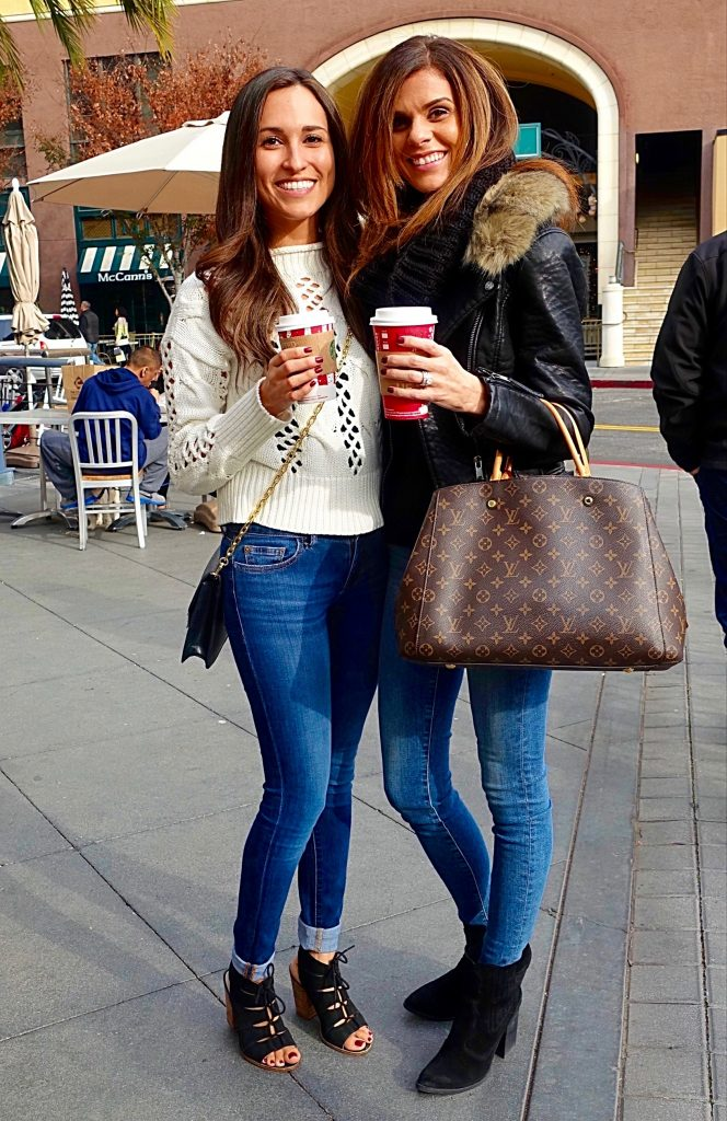 Holiday street style, Santana Row - 2