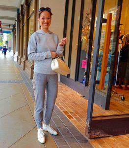 Holiday street style, Santana Row - 1