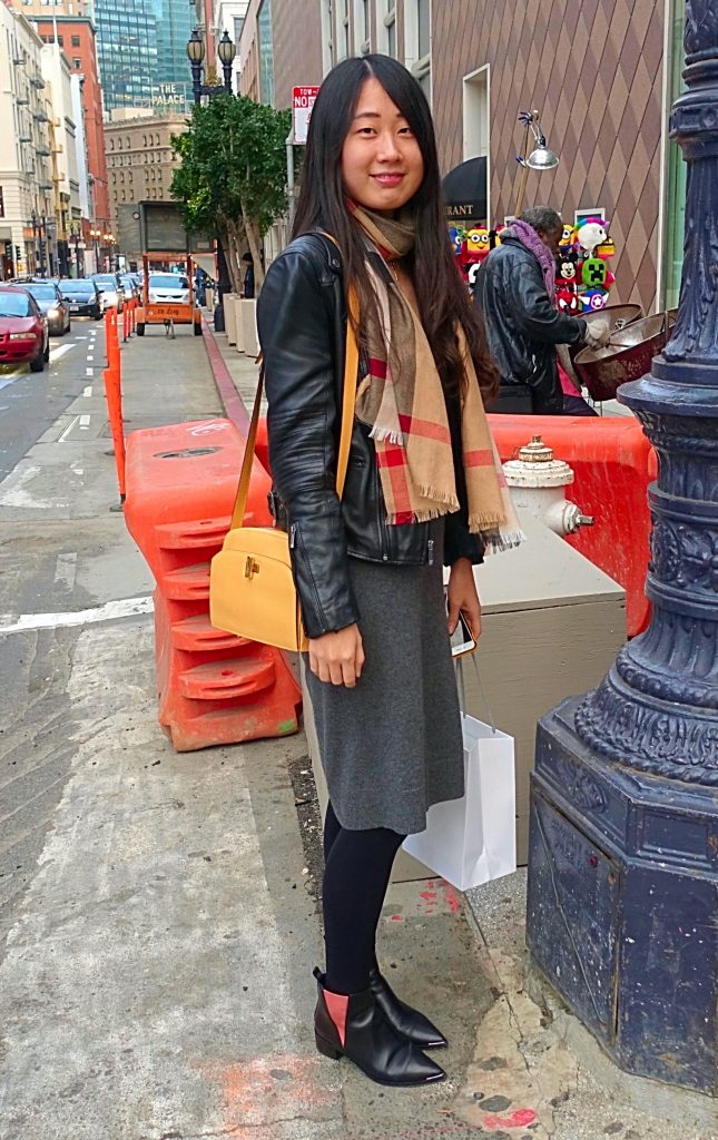 San Francisco holiday street style - 1
