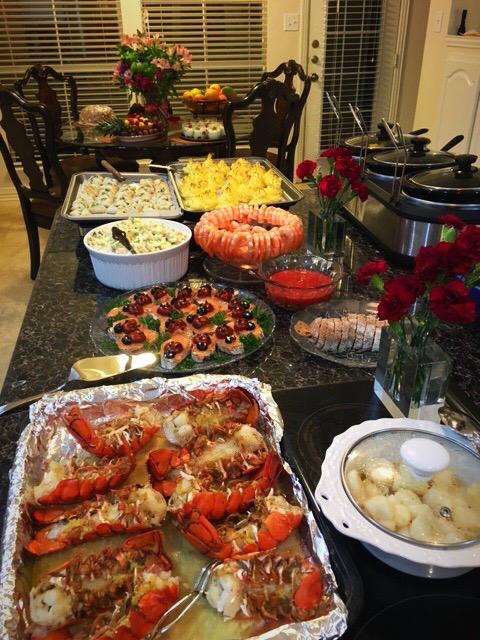 NYE feast