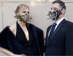 Janea and Mark in LVM masks