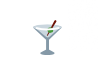 Cocktail emoji