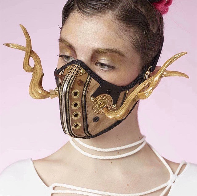 V.L.M. Nature Punk mask