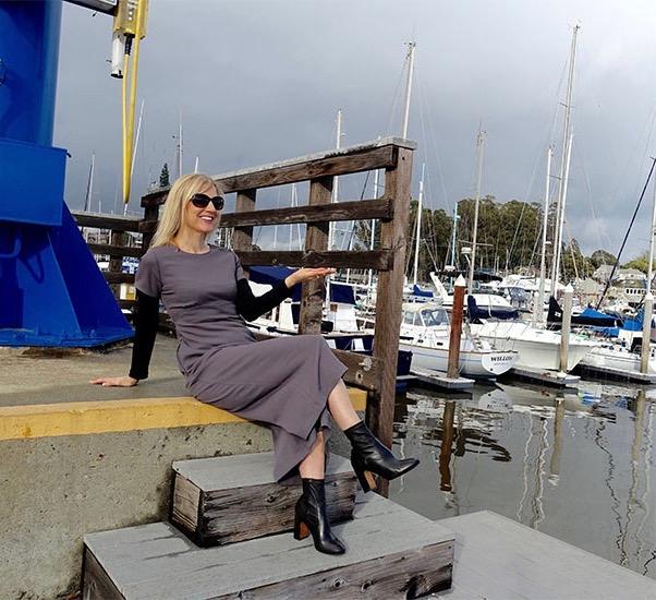 Enjoying the Santa Cruz Yacht Harbor