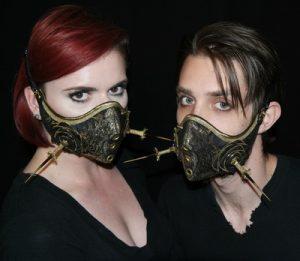 Lance Victor Moore masks