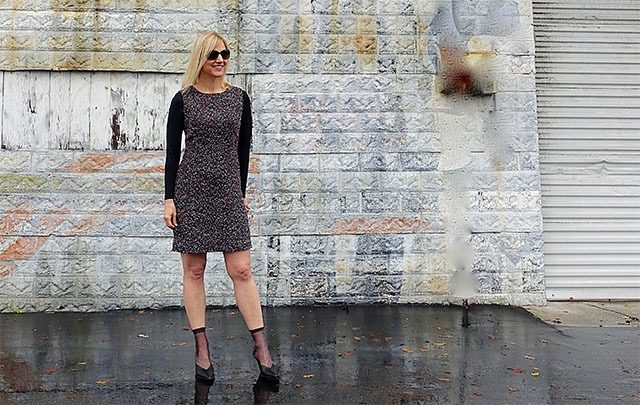 Shifty sheath dress