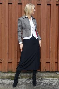 Work outfit with Anne Fontaine blouse