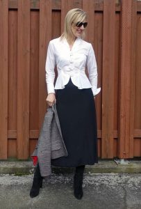Anne Fontaine blouse #ootd