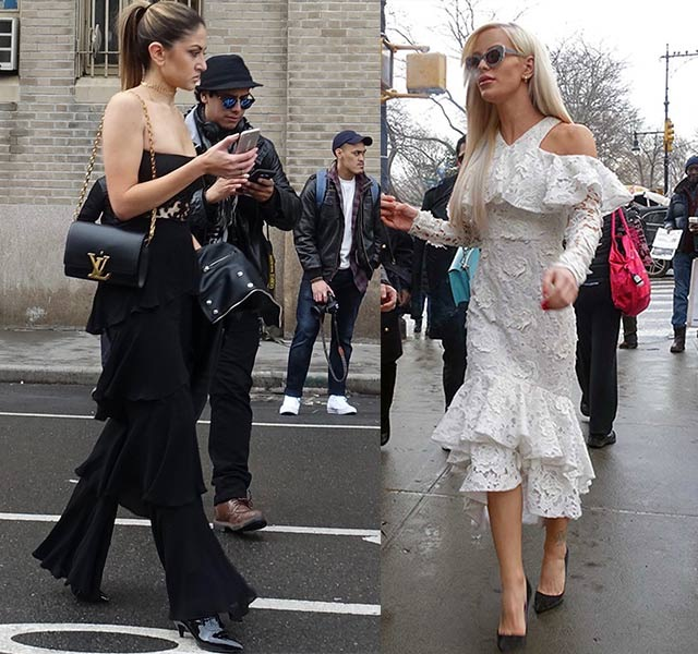 Valentine's Day outfit inspo - ruffles