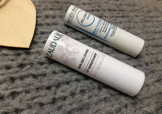 Caudal and Bioderma lip care