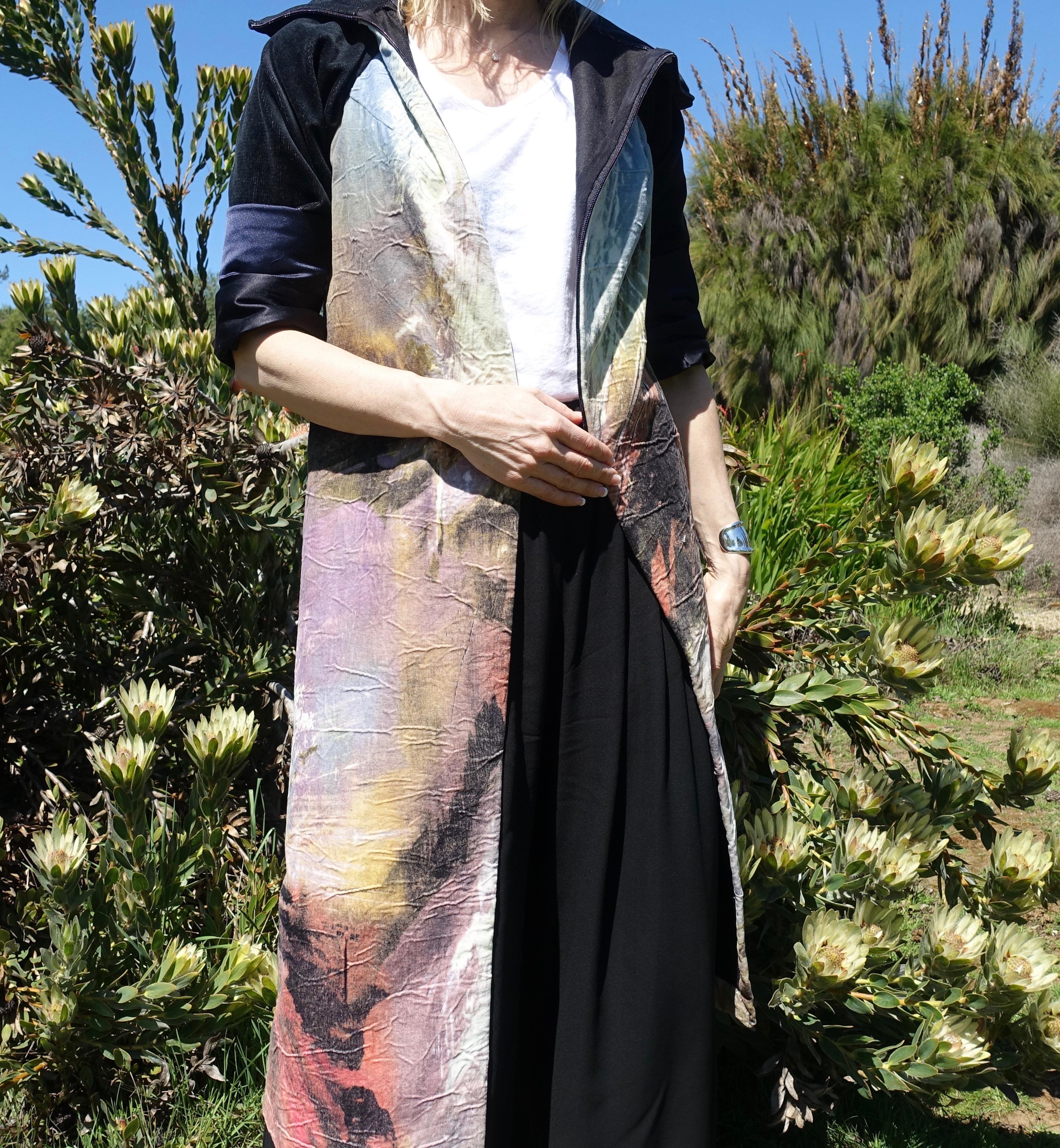 Close up of spring dress coat