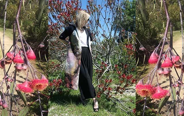 Emily Payne spring dress coat