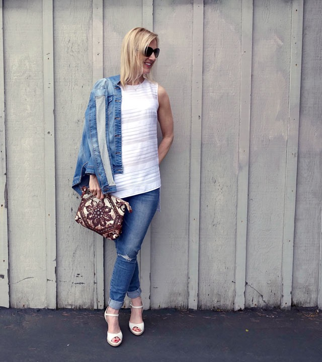 doubling down on denim