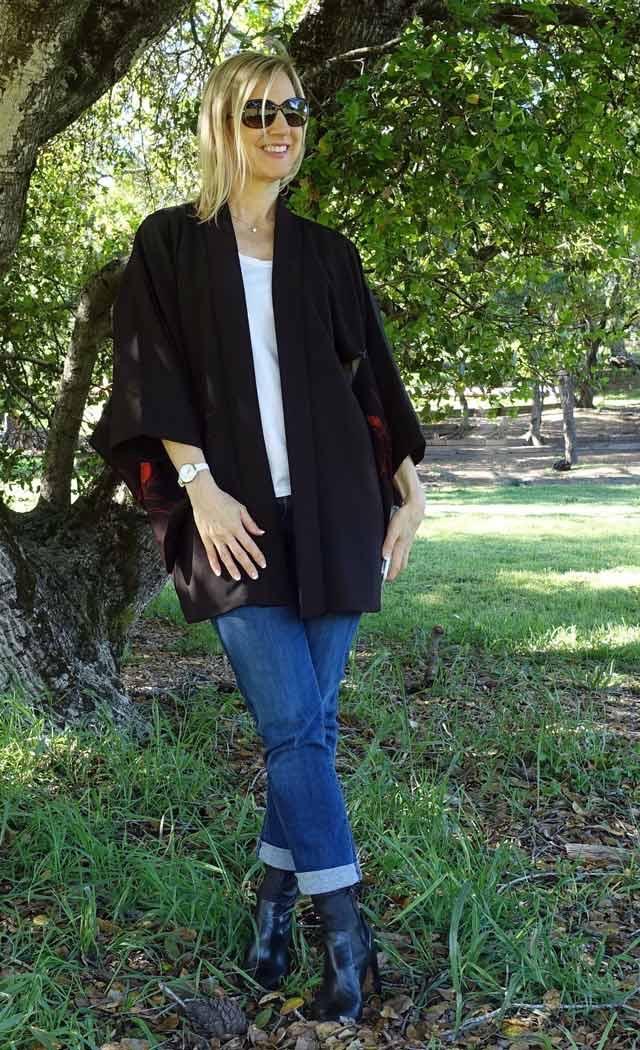 Janea's kimono style