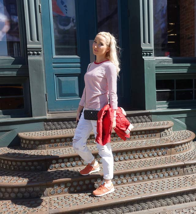 Liliya's casual outfit - New Balance / Chanel