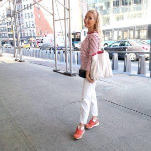 Liliya's New Balance / Chanel ootd