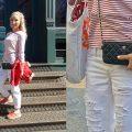 Liliya Anisimova's New Balance / Chanel ootd