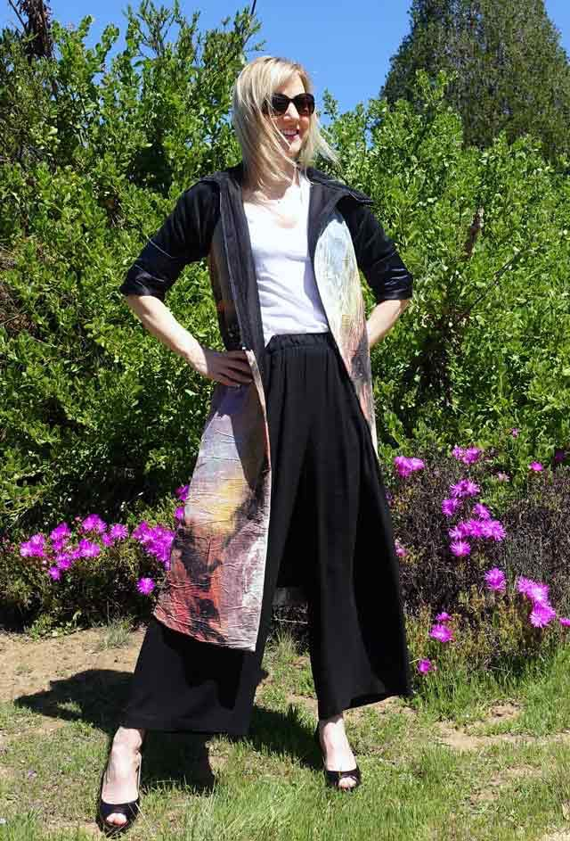 Dress coat by Emily Payne
