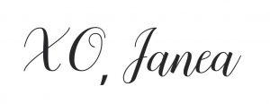 XO, Janea
