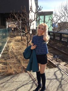 Liliya on the High Line