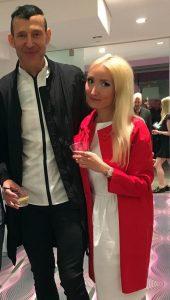 Liliya and Karim Rashid