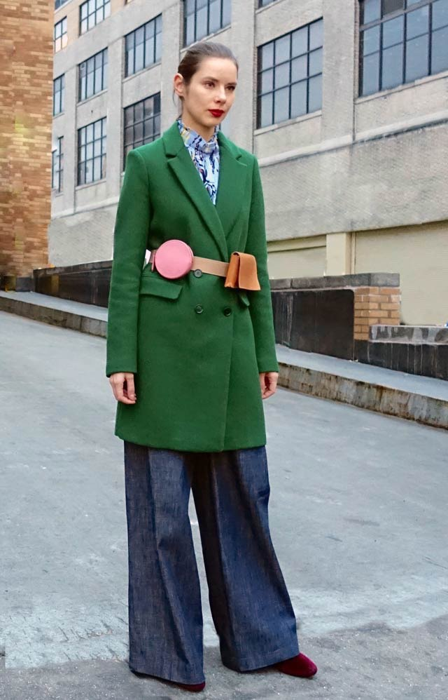 Hot color for spring: green
