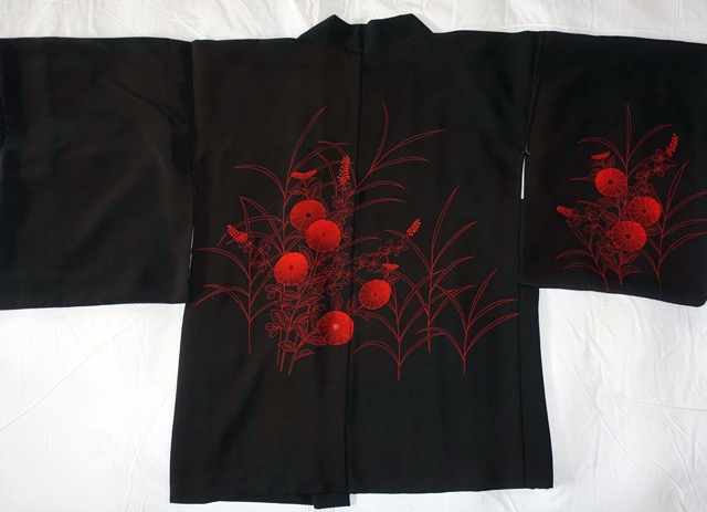 Design of the haori