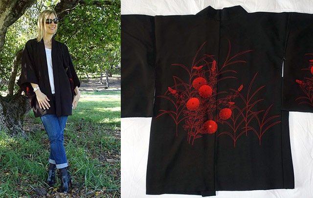 Kimono style slider