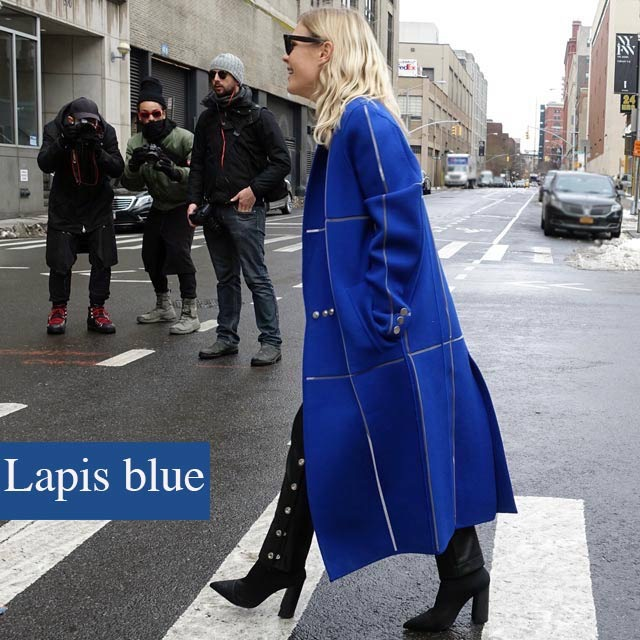 One of 10 hottest colors for Spring, 2017: lapis blue