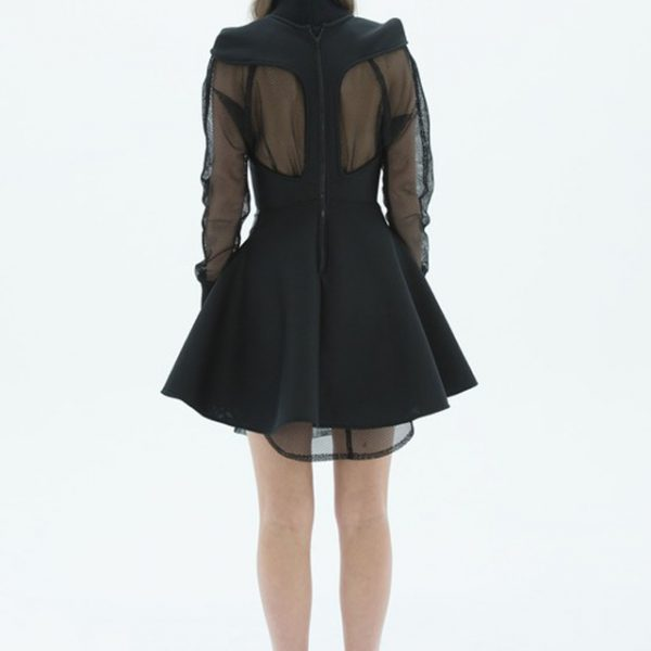 LAYANA AGUILAR racer back mini dress