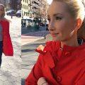 Liliya Anisimova's Kate Spade outfit