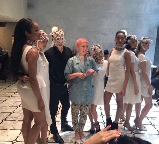 Rasa Vilcinskaite at AS Fashion Show