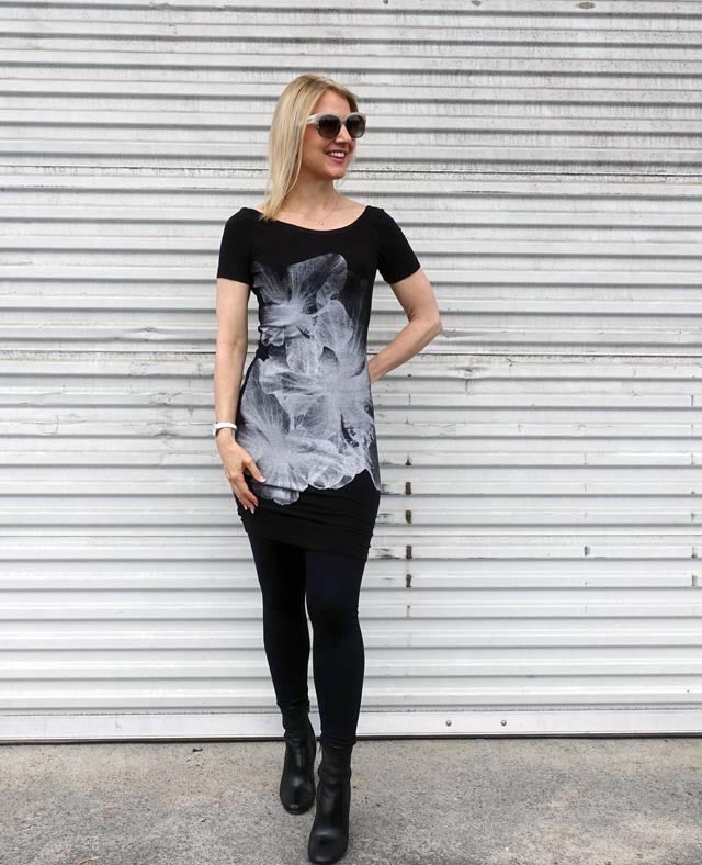 T-shirt dress for spring