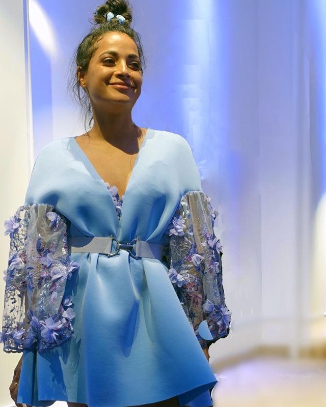 Layana Aguilar, NYFW