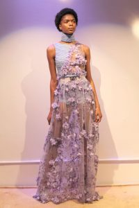 Ethereal long One Love dress