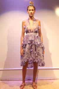 Wearable art in Layana Agular's One Love line
