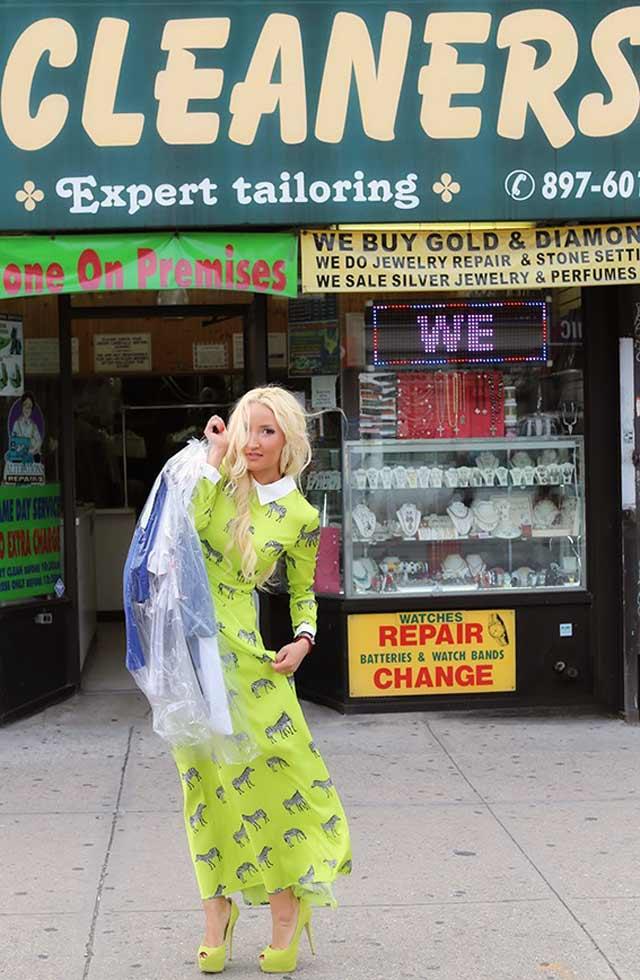 Liliya's spring/summer style in NYC